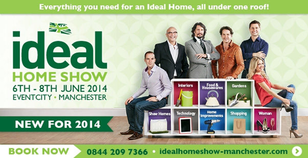 ideal home show comes to manchester city crash pad blog